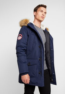 Superdry - EVEREST  - Wintermantel - nautical navy