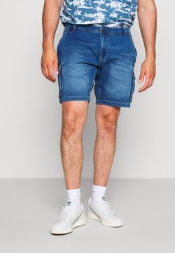 Blend - Jeansshort - denim middle blue