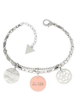 Guess - PEONY ART MÜNZEN - Bracelet - silver