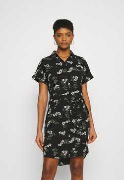Vero Moda - VMSAGA DRESS - Blousejurk - black