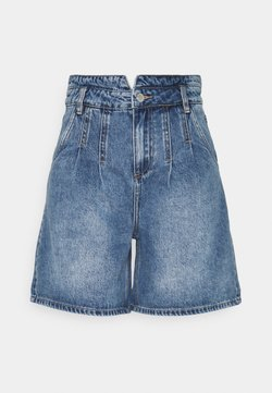 b.young - BYKATO BYKOLBY - Shorts di jeans - ligth blue denim