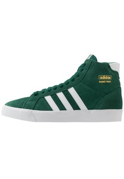 adidas Originals - BASKET PROFI - Sneaker low - collegiate green/footwear white/gold metallic