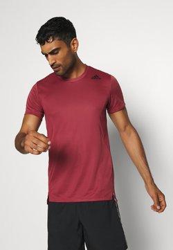 adidas Performance - HEAT.RDY TRAINING SLIM SHORT SLEEVE TEE - Camiseta estampada - legend red