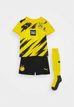Puma - BVB BORUSSIA DORTMUND HOME MINI KIT - Vereinsmannschaften - cyber yellow/black