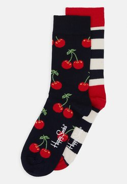 Happy Socks - CHERRY STRIPES 2 PACK - Socken - multi-coloured