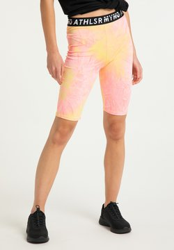 myMo ATHLSR - ATHLSR - Shorts - orange pink