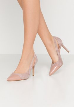 Zign - High Heel Pumps - nude