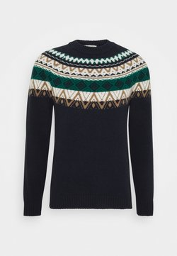 Wool & Co - NORWEGER - Trui - navy