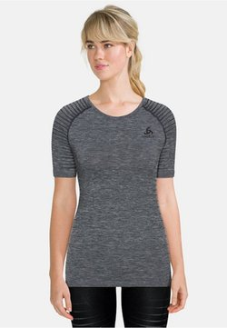 ODLO - CREW NECK PERFORMANCE LIGHT - Camiseta interior - grey melange