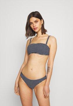 Seafolly - SEASIDE STRIPE BANDEAU BRA - Bikini-Top - true navy