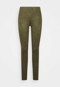 Freequent - LEXIE - Leggings - Hosen - olive night
