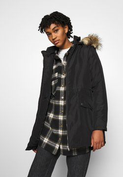 Noisy May - NMOCTAVIA LONG JACKET - Parka - black