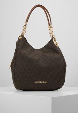 MICHAEL Michael Kors - LILLIE CHAIN TOTE  - Shopper - acorn