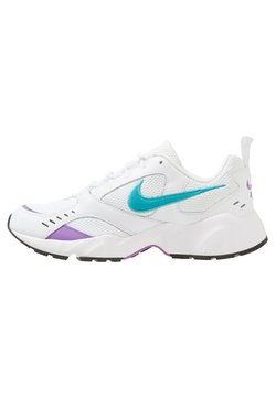 Nike Sportswear - AIR HEIGHTS - Trainers - white/teal/violet