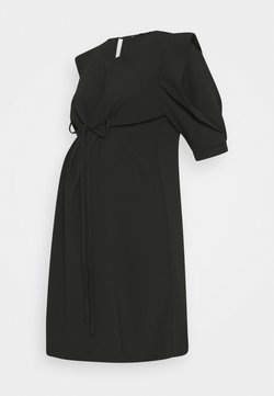 ATTESA - MANICA PETALO - Vestido informal - black