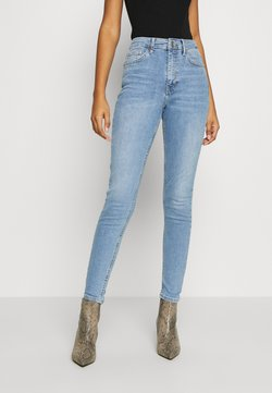 Topshop - BACK POCKET JAMIE  - Jeans Skinny Fit - bleach