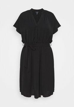 New Look Curves - OVERHEAD BELTED - Etuikjoler - black