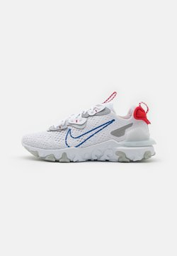 Nike Sportswear - REACT VISION - Trainers - white/game royal/pure platinum
