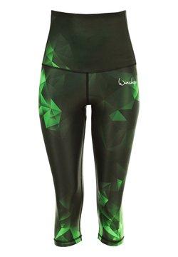 Winshape - HWL202 RUBIN HIGH WAIST- 3/4 SPORTHOSE - 3/4 Sporthose - smaragd