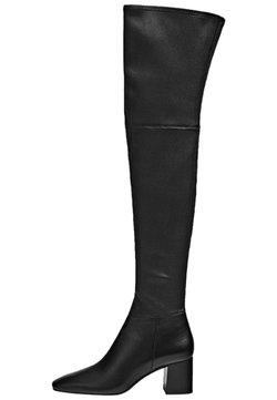 Massimo Dutti - Overknees - black