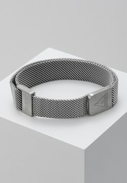 Guess - IDENTITY LOGO MAG UNISEX - Bracelet - silver-coloured