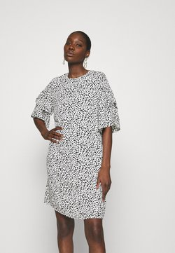 Selected Femme - SLFCARLA DRESS - Sukienka letnia - snow white