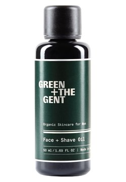 Green + The Gent - FACE + SHAVE OIL - Olio viso - -