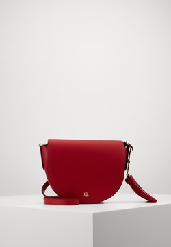 Lauren Ralph Lauren - WITLEY CROSSBODY SMALL - Umhängetasche - red