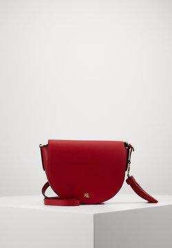 Lauren Ralph Lauren - WITLEY CROSSBODY SMALL - Torba na ramię - red