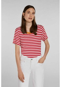 Oui - T-Shirt print - white red