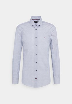 Tommy Hilfiger Tailored - GEO SLIM FIT - Zakelijk overhemd - navy/ white