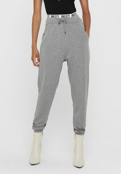 ONLY - Jogginghose - light grey melange