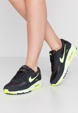 Nike Sportswear - AIR MAX 90 - Sneakers laag - dark smoke grey/volt/barely volt