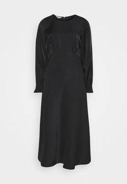Herrlicher - LOULOU DRESS SHINY MIX - Cocktailkleid/festliches Kleid - black