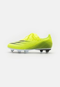 adidas Performance - X GHOSTED.3 SG - Screw-in stud football boots - solar yellow/core black/royal blue