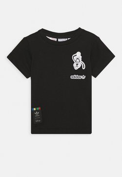 adidas Originals - GOOFY TEE DISNEY  - T-shirt print - black