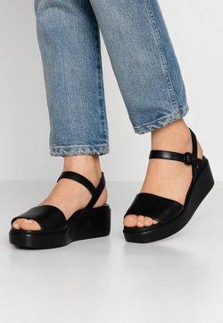 Camper - MISIA - Platform sandals - black