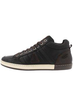 Gaastra - WILLIS - Sneaker low - black/brown