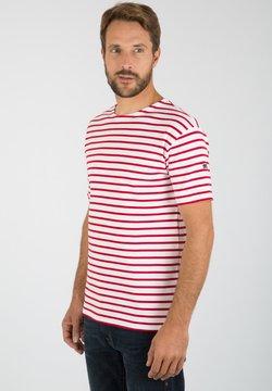 Armor lux - DOËLAN MARINIÈRE - T-Shirt print - blanc braise