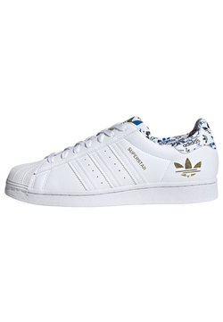 adidas Originals - SUPERSTAR - Skeittikengät - ftwr white/ftwr white/gold met.