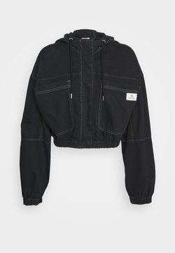BDG Urban Outfitters - JARED HOODED JACKET - Jeansjacke - black