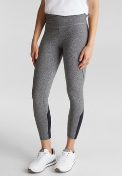 Esprit Sports - 2-TONE-LOOK - Tights - medium grey