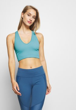 Free People - FREE THROW CROP - Sujetador deportivo - turquoise