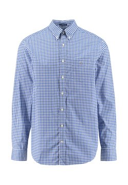 GANT - REGULAR FIT LANGARM - Vapaa-ajan kauluspaita - light blue