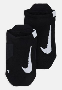Nike Performance - UNISEX 2 PACK - Calcetines tobilleros - black/white