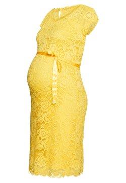 MAMALICIOUS - MLNEWMIVANA CAP DRESS - Cocktail dress / Party dress - primrose yellow
