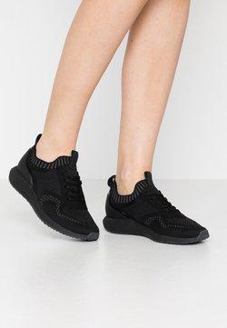 Tamaris Fashletics - Sneakers laag - black/dark grey