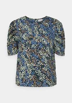 JDY - JDYMIA RUTCHED - Bluse - night sky