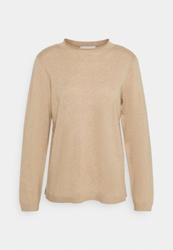 Lounge Nine - TURTLENECK  - Neule - safari melange