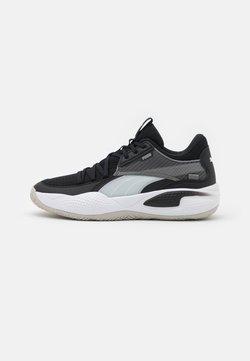 Puma - COURT RIDER - Chaussures de basket - white/black